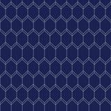 Art Deco Seamless Pattern, Geometrische Achtergrond voor ontwerp, dekking, textiel, behang, decoratie Stock Afbeeldingen
