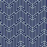 Art Deco Seamless Pattern, Geometrische Achtergrond voor ontwerp, dekking, textiel, behang, decoratie Stock Foto's