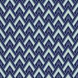 Art Deco Seamless Pattern, Geometrische Achtergrond voor ontwerp, dekking, textiel, behang, decoratie Stock Foto