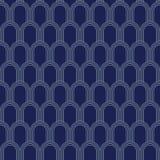 Art Deco Seamless Pattern, Geometrische Achtergrond voor ontwerp, dekking, textiel, behang, decoratie Royalty-vrije Stock Afbeeldingen