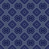 Art Deco Seamless Pattern, Geometrische Achtergrond voor ontwerp, dekking, textiel, behang, decoratie Royalty-vrije Stock Fotografie