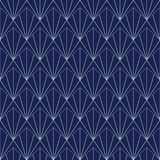 Art Deco Seamless Pattern geometrisk bakgrund för designen, räkning, textil, tapet, garnering stock illustrationer