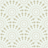 Art deco seamless pattern. Luxury elegant texture. Regularly repeating stylish pattern with round ornaments. Vector abstract seamless background Stock Photos