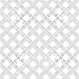 Art deco seamless pattern. Modern stylish texture. Regularly repeating geometrical ornament with corner dotted lines, rhombuses. Vector abstract seamless Royalty Free Stock Photo