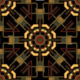 Art Deco Seamless Pattern. Retro Art Deco Seamless Pattern vector illustration Royalty Free Stock Image