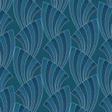 Art deco seamless pattern Stock Photos