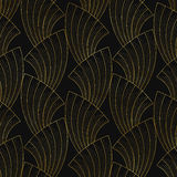 Art deco seamless pattern Stock Image