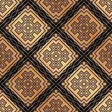 Art Deco Seamless Pattern. Vintage Art Deco Seamless Pattern. Geometric decorative texture royalty free stock images