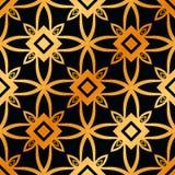 Art Deco Seamless Pattern. Vintage Art Deco Seamless Pattern. Geometric decorative texture royalty free stock photos