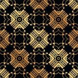 Art Deco Seamless Pattern. Vintage Art Deco Seamless Pattern. Geometric decorative texture stock photo