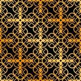 Art Deco Seamless Pattern. Vintage Art Deco Seamless Pattern. Geometric decorative texture stock images