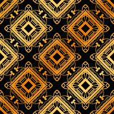 Art Deco Seamless Pattern. Vintage Art Deco Seamless Pattern. Geometric decorative texture stock photography