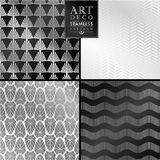 Art Deco seamless vintage wallpaper pattern Royalty Free Stock Photography