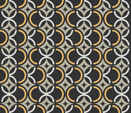 Art Deco seamless vintage wallpaper pattern royalty free illustration