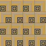 Art Deco seamless vintage wallpaper pattern Stock Photos