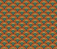 Art Deco seamless vintage wallpaper pattern Stock Images