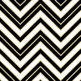 Art Deco seamless vintage wallpaper patterns vector Stock Photo