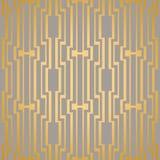 Art Deco seamless vintage wallpaper patterns vector. Royalty Free Stock Photo