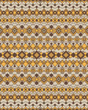 Art Deco Shapes Pattern 2 Photo stock