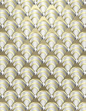 Art Deco shell Background Stock Images