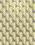 Art Deco shell Background Stock Photo