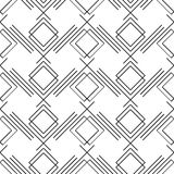 Art deco simple linear seamless pattern Stock Images