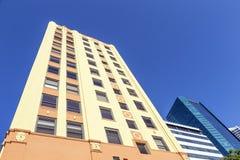 Art Deco Skyscraper in Miami's Historic District Royalty Free Stock Images