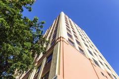 Art Deco Skyscraper in Miami's Historic District Stock Photo