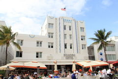 Art Deco South Beach Miami Royalty Free Stock Photo