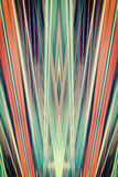 Art Deco spotlights background Royalty Free Stock Images