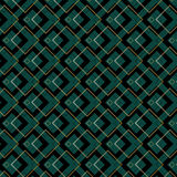 Art Deco Squares Pattern Photo stock