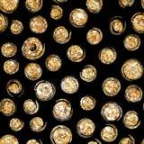 Art Deco Styl Polek kropki, confetti royalty ilustracja