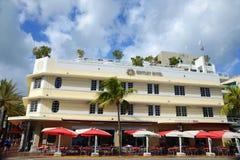 Art Deco Style Bentley in Miami Beach Stock Photo