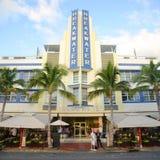 Art Deco Style Breakwater In Miami Beach Royalty Free Stock Photo