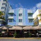 Art Deco Style Imperial in Miami Beach Stock Photo