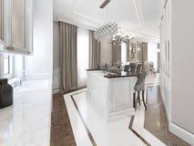 Art deco style kitchen Royalty Free Stock Image