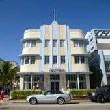 Art Deco Style Marlin in Miami Beach Stock Image