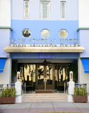 Art Deco Style Park Central in Miami Beach Royalty Free Stock Images