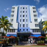Art Deco Style Park Central in Miami Beach Stock Image