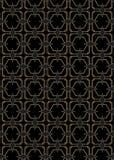 Art Deco Style Pattern sans couture Images libres de droits