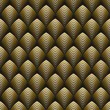 Art Deco Style Seamless Pattern Stock Photography