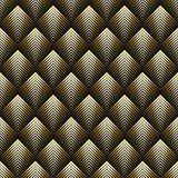 Art Deco style seamless pattern. Golden texture Royalty Free Illustration