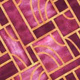 Art deco style seamless pattern royalty free stock photography