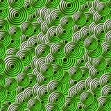 Art Deco style seamless pattern. Green texture vector illustration