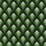 Art Deco style seamless pattern. Green texture Stock Photography