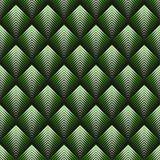 Art Deco style seamless pattern. Green texture royalty free illustration