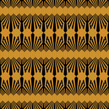 Art Deco style seamless pattern texture Royalty Free Stock Photography