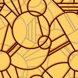 Art deco style seamless pattern stock photo