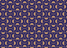 Art deco styled,half circle pattern background Stock Photo