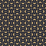 Art deco styled half circle pattern Royalty Free Stock Photography